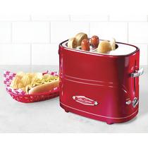 Tostadora Para Hot Dogs De Nostalgia /retro - Nueva