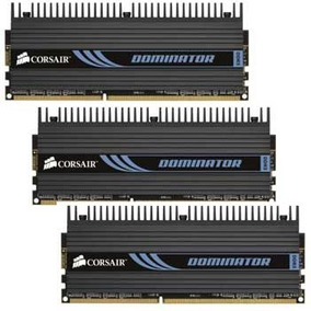 Memoria Ram Corsair Dominator 6gb (2x3) Ddr3 1600 Mhz