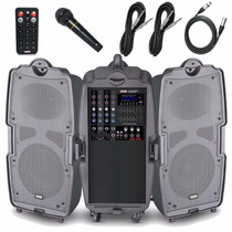 Caixa Mixer Ativo Novik Evod 2x160w Street Sound - Envio 24h