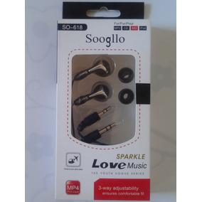 Fone De Ouvido Intra-auricular - Soogllo So-618