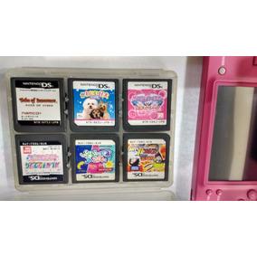 Nintendo Dsi + 12 Cartuchos+ Fonte Tudo Original