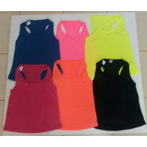 Regata Plus Size Dryfit Blusa Roupa Academia Feminina Cor Va