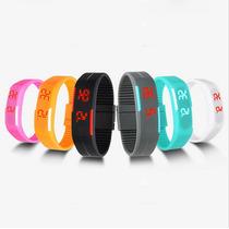 Relógio Pulseira De Led Esportes Bracelete Cores Variadas