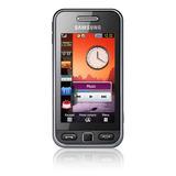 Celular Samsung Star S5230 Com Camera 3.2mp, Mp3, Fm E Touch