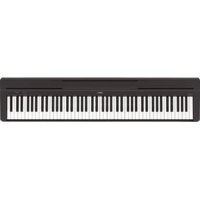 Piano Yamaha P45 | Com Fonte | Nfe | 1 Ano De Garantia!