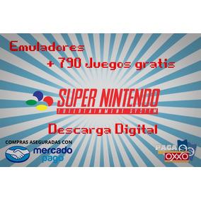Emulador Super Nintendo + Regalo 790 Juegos