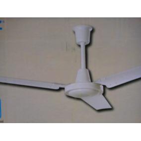 Ventilador Industrial De 142 Cm Blanco De 3 Aspas