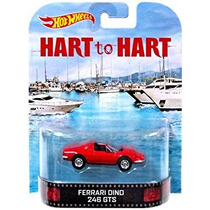 Coleccionable Hot Wheels Hart Y Hart Ferrari Dino 246 Gts F