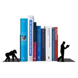 Suporte Aparador Porta Livros Bibliocanto Evolução Aço Epóxi