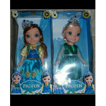 Muñeca Frozen Princesa Sofia Bebe, Ana, Elza , Cantan