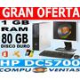 Computadores Con Pantalla Lcd -cafe -ram 2gb Internet,hogar,