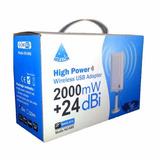 Antena Adaptador Wifi Usb Melon N89 24 Dbi. Envío Gratis