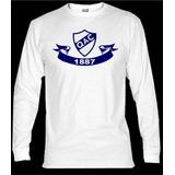 Remeras Manga Larga Quilmes Atletico Club,cervecero,camiseta