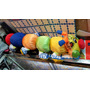 Peluche Gusano Multicolor 60 Cm Largo