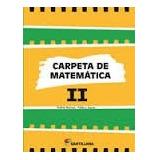 Carpeta De Matemática 2 Ed Santillana - Cesarpark Libros
