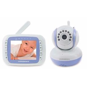 Baba Eletrônica Com Monitor Sem Fio Powerpack Mtv-368
