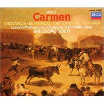 Bizet: Carmen - Solti - Pavarotti & Troyanos - Edición 3 Cds