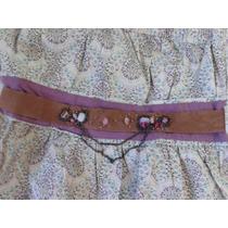 Vestido Straplee Hang Ten Con Cin Turon Decorativo