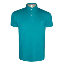 Camisa Polo Ricardo Almeida Camiseta Azul