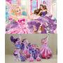 Kit Display Barbie Pop Star 8 Peças + Painel 2,00x1,40mt