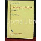 Lingüistica Aplicada Theodor Ebneter Gredos Psicolingüística
