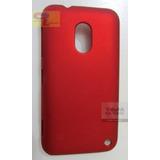 Capa Case Super Premium Vermelha Para Nokia Lumia 620