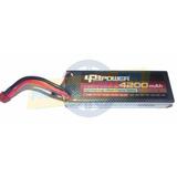 Bateria Lipo Hard Case 2s 7.4v 4200mah Automodelo Crawler
