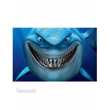 Painel Decorativo Disney/pixar Procurando Nemo Bruce 60x40