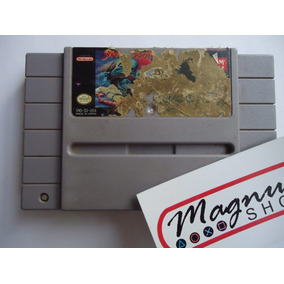 Street Fighter 2 Para Super Nintendo Funcionando Ala Primera