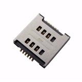Leitor Chip Sim Card Lg Optimus L5 E615 E615f Conector Slot