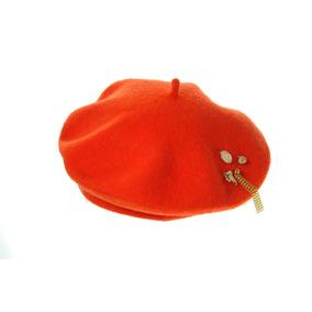 Boina Con Dijes Naranja Las Penelope