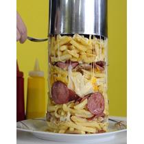 Promoção! Forma Cilindro Para Torre De Batatas Fritas!