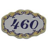 Número De Casa | Número De Casa Em Azulejo Decorado