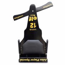 Carrinho De Rolimã F1 Lotus Junior Com Rodas De Skate Preto