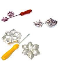 Frisador Kit Frisadores Para Flores De Eva Peças Em Aluminio