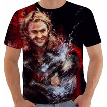 Camiseta 369 Thor Super Heroi Vingadores Marvel 1 Color