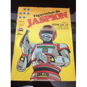 Album De Figurinhas Jaspion E Change Man Completo Antigo
