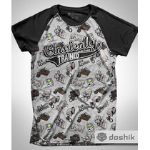 Playera Classically Trained Gamer Old School Doshik Nintendo