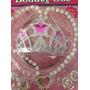 Set De Belleza Para Vestido De Princesas Corona,collar,arete