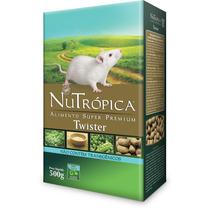 Nutrópica® Twister. P/ Rato Branco De Laboratório E Mercol.