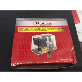 Interruptor De Presión Para Compresor De Aire