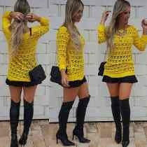 Blusa Tricot Crochet Em Linha Preferida Das Blogueiras