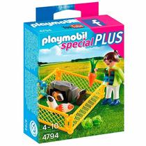 Playmobil Special Plus - Menina Com Porquinhos Da Índia 4794
