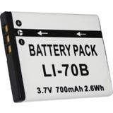 Batería Li-70b Para Cámara Olympus Fe-4020 4040 5040 X-940