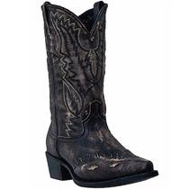 Laredo Hombres 12 Boot Snipblack / Tan Piel De Cabra 6767
