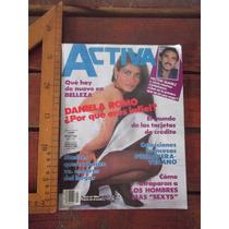 Daniela Romo En Revista Activa De 1985