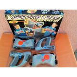Laser Challenge Team Force Set Exelente Estado Años 90s