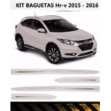 Baguetas Honda Hr-v Kit X 4 Piezas Color Blancas
