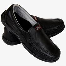 Sapatilha Sapato Mocassim Masculino Couro Legítimo Oferta