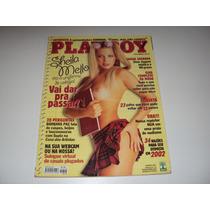 Revista Playboy Janeiro 2002 Nº 318 Sheila Mello